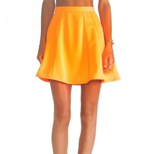 New The Fifth Label Right Here Neon Circle Skirt